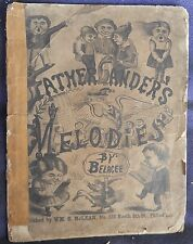 Ultra Rare Book FATHER GANDER'S MELODIES 1868 by Belacee (Barnet Lacy)