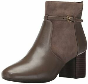 Cole Haan Ladies Paulina Grand Bootie Size 6 Morel Leather W08119BSZ6