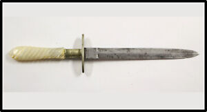 Antique 1900 gambler prostitute dirk dagger by Joseph Allen & Sons Bowie knife