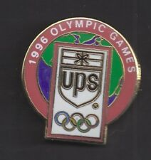 1996 UPS Atlanta Olympic Pin World Globe Rings