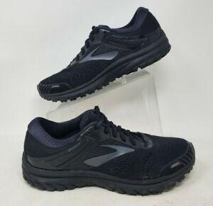 Brooks Mens Adrenaline GTS 18 1102711D026 Black Running Shoes Size 10.5