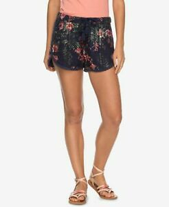 Roxy NWT Choose Your Size Wild Red Earth Blue Shorts $50 B055