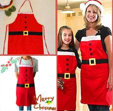 Trixes Padre Navidad Santa Claus Estilo Delantal Rojo