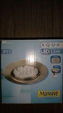 Massive 59918  led einbauspot edelstahl 599181710   Massive Aqua