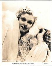 Vintage Hollywood Studio MGM   JEAN HARLOW  Movie Star Saratoga  publicity photo
