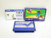 BASEBALL Blue Box Ref/bcb Famicom NINTENDO fc