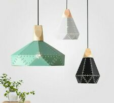Chandelier Lamp Shades Pendant Lights Cover Home Hallway Decor Wooden Lampshades