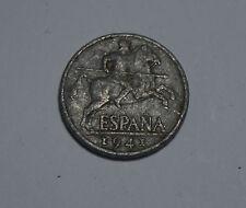 10 DIEZ Cents Spain Spanien Coin ESPANA 1941 Münze TOP! (C4)