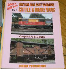 More details for railways in profile #5  british railway wagons cattle & brake vans g gamble