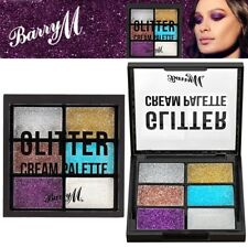 Barry M Glitter Cream EyeShadow Palette Highly Pigmented Sparkling Eye Makeup