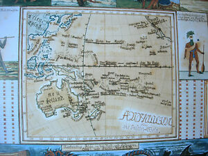 "Otto Staab 1812 ""Australia or the Island World"" - Fine Reproduction No 24/50"