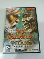 Age Of Mythologie Das Titans Expansion - Set Für PC Dvd-Rom Ausgabe Spanien