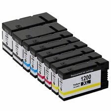 8 Pack PGI 1200XL Ink Cartridge for Canon Maxify MB2350 MB2050 MB2120 MB2720