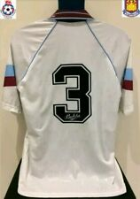 West Ham United, England DICKS 91/92 Away Football Shirt (M) Soccer Jersey