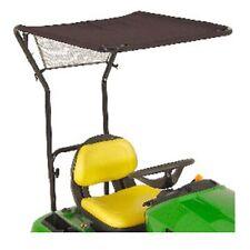 More details for genuine john deere ride on lawnmower sun shade canopy bm23054 x300 x350 x500