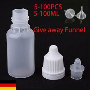 5-100 STÜCKE 5-100 ml Leere, zusammendrückbare Pipettenflaschen aus Kunsts PLA