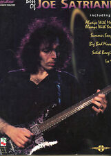 Best of Joe Satriani Songbook - Guitar With Tabs - 1995 - Nice Condition