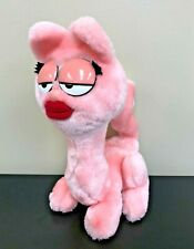 Garfield Arlene Plush Stuffed Animal 1984 Dakin, Pink Cat, Lips, Euc