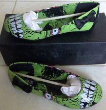 Iron Fist Zombie Stomper Flat, Green, Women's 5 (US), NEW