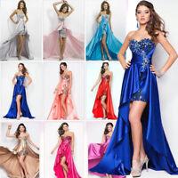 Abendkleid Ballkleid Brautkleid Brautjungfern Kleid Party ROT BC288R 34