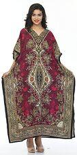 Indian-New-Kaftan-Boho-Hippy-Plus-Size-Women-Dress-Beach-Cover-Up-Gown-Nightwear