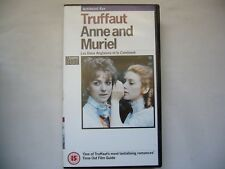 Anne and Muriel Les deux Anglaises et le continent VHS PAL TIMECODE PROMO ID#2CP
