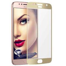 Pellicola salvaschermo di vetro per Motorola Moto G5S Plus (XT1803/ 5.5'') - oro