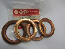 SUZUKI RF900R/RF600R/GSX-R750/GSX-R600 EXHAUST PIPE GASKET NOS! SET OF4