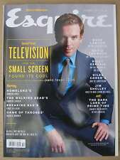 Esquire magazine October 2013 Damian Lewis Natalie Dormer Andrew Lincoln Gervais