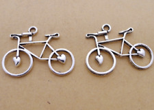 new 15pcs  Tibetan silver  bicycle charms pendant 23x31 mm