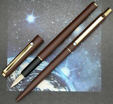 RARE MINT IN BOX VINTAGE SET MONTBLANC NOBLESSE FOUNTAIN PEN AND BALLPOINT PEN