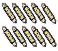 10x 4 SMD 5050 LED Soffitte Lampe C10W 42mm Innenraum Beleuchtung Deutsche Post