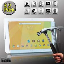 Pack 2 protection d'écran verre trempé pour acer iconia one 10 B3-A20 tablette 10.1