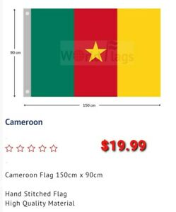 Cameroon Flag Large Cameroonian Flag   AUSPOST 900×1500