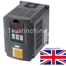 2.2KW 3HP VFD 10A 220V Variable Frequency Drive Inverter Motor Speed Control  UK