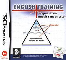 ENGLISH TRAINING  :  PROGRESSEZ EN ANGLAIS SANS STRESSER       -----    DS