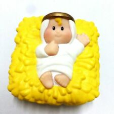 Fisher Price Little People BABY JESUS for Christmas Nativity Stable MANGER toy