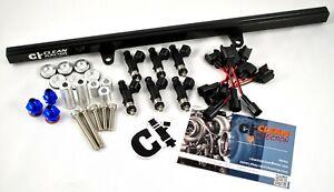 fit Nissan Skyline RB25DET r33 GTS-T 650cc Bosch Fuel Injectors Kit fuel Rail