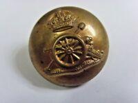 Antique British army  Royal artillery uniform button service supply Ltd 49451