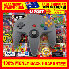 N64 Nintendo 64 Style USB Controller for PC Emulators Dolphin Retro Games