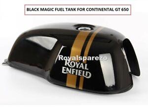 "Royal Enfield ""BLACK MAGIC PETROL GAS FUEL TANK"" For Continental GT 650"