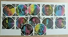 """Masters Of Rock & Roll Vol 1 - 12 × Vinyl, 7"""" Photo Disc (picture disc)"""