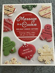 Williams-Sonoma Message In A Cookie Holiday Cutters New