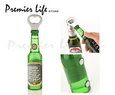Magnetic Beer Bottle Shaped Can Bottle Openers - Beer is Good For Fart