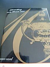 Dubai WORLD CUP RACECARD 2005 26th MARCH