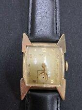 Vintage 1957 Mens Hamilton CLARK Wristwatch