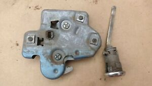 1962 1970 Chevy TRUNK LID LOCK / LATCH RELEASE Original GM 1964-72 Nova Chevelle