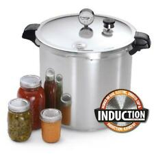 Induction Compatible Base 23-Quart Home Pressure Cooker Canner Safe Dial Gauge