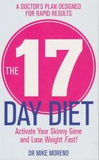 THE 17 DAY DIET -DR MIKE MORENO WEIGHT LOSS DIET RECIPES AS NEW PB FAST & FREE