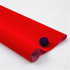 Self-adhesive Velvet Felt Fabric Non Woven Sticker Craft Decor Sheet Pack Yard
